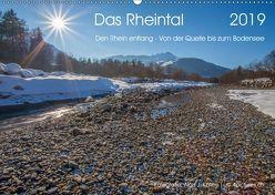 Das Rheintal 2019 (Wandkalender 2019 DIN A2 quer) von J. Koller 4Pictures.ch,  Alois