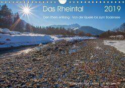 Das Rheintal 2019 (Wandkalender 2019 DIN A4 quer) von J. Koller 4Pictures.ch,  Alois