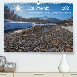 Das Rheintal 2021 (Premium, hochwertiger DIN A2 Wandkalender 2021, Kunstdruck in Hochglanz) von J. Koller 4Pictures.ch,  Alois