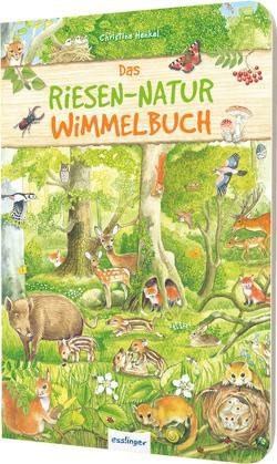 Das Riesen-Natur-Wimmelbuch von Henkel,  Christine
