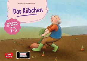 Das Rübchen. Kamishibai Bildkartenset. von Bohnstedt,  Antje, Klement,  Simone