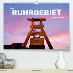 Das Ruhrgebiet bei Nacht (Premium, hochwertiger DIN A2 Wandkalender 2021, Kunstdruck in Hochglanz) von Schickert,  Peter