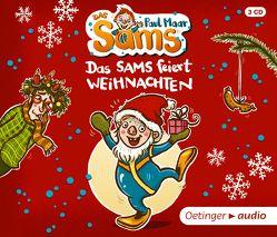 Das Sams feiert Weihnachten (3 CD) von Arnold,  Monty, Dulleck,  Nina, Gustavus,  Frank, Maar,  Paul