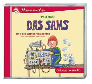 Das Sams und die Wunschmaschine (CD) von Arnold,  Monty, Maar,  Paul, Poppe,  Kay, Ziesmer,  Santiago