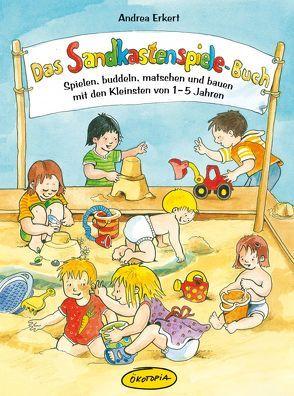 Das Sandkastenspiele-Buch von Erkert,  Andrea, Wöstheinrich,  Anne