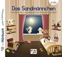 Das Sandmännchen 2 CDs von Gräf,  Claudia, Gunsch,  Reinhard, Totzauer,  Werner, Ulrich,  Manfred