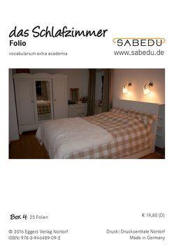 das Schlafzimmer, SABEDU Box 04, Lehrermaterial, OHP-Folien von Riemann-Eggers,  Margret