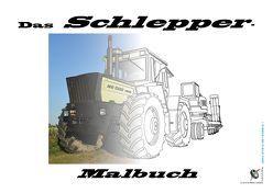 Das Schlepper-Malbuch von Schmölzl,  Hubert