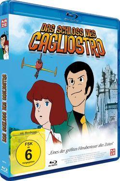 Das Schloss des Cagliostro – Blu-ray von Miyazaki,  Hayao