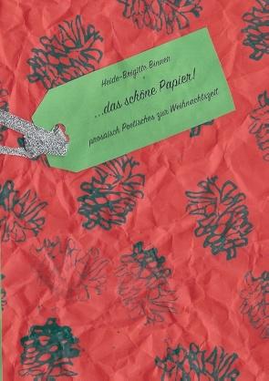 Das schöne Papier von Binner,  Heide-Brigitte
