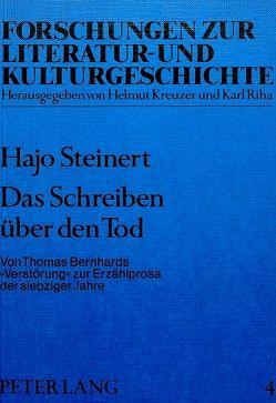 Das Schreiben über den Tod von Steinert,  Hajo