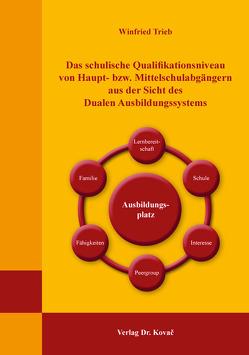 Das schulische Qualifikationsniveau von Haupt- bzw. Mittelschulabgängern aus der Sicht des Dualen Ausbildungssystems von Trieb,  Winfried