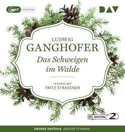 Das Schweigen im Walde von Ganghofer,  Ludwig, Strassner,  Fritz