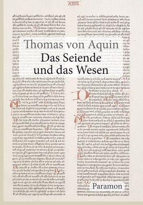 Das Seiende und das Wesen von Aquin,  Thomas von