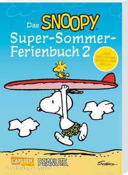 Das Snoopy-Super-Sommer-Ferienbuch Teil 2 von Schulz,  Charles M., Wieland,  Matthias