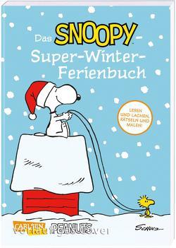 Das Snoopy-Super-Winter-Ferienbuch von Schulz,  Charles M., Wieland,  Matthias