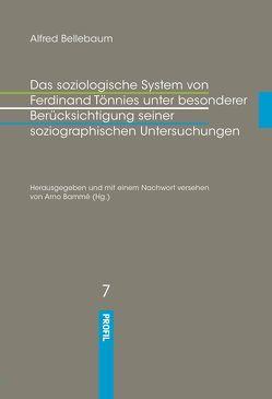 Das soziologische System von Ferdinand Tönnies unter besonderer Berücksichtigung seiner soziographischen Untersuchungen von Bammé,  Arno, Bellebaum,  Alfred