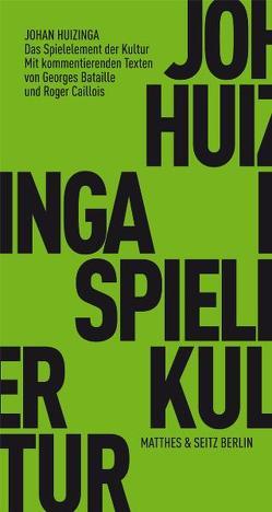Das Spielelement der Kultur von Ebeling,  Knut, Huizinga,  Johan