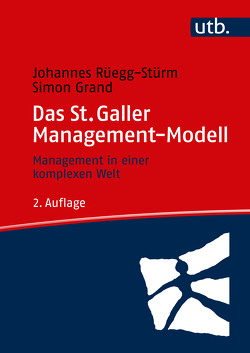 Das St. Galler Management-Modell von Grand,  Simon, Rüegg-Stürm,  Johannes