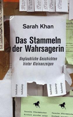 Das Stammeln der Wahrsagerin von Khan,  Sarah