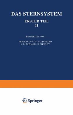Das Sternsystem von Curtis,  Heber D., Eberhard,  G., Kohlschüüter,  A., Lindblad,  B., Ludendorff,  H., Lundmark,  K., Shapley,  H.