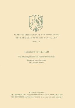 Das Stützengeschoß der Pisaner Domkanzel von Einem,  Herbert von