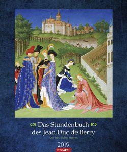 Das Stundenbuch des Jean Duc de Berry – Kalender 2019 von Limburg,  Gebrüder von, Weingarten
