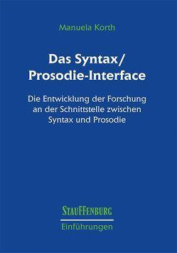 Das Syntax/Prosodie-Interface von Korth,  Manuela