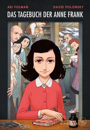 Das Tagebuch der Anne Frank von Folman,  Ari, Frank,  Anne, Polonsky,  David, Pressler,  Mirjam, Timmermann,  Klaus, Wasel,  Ulrike