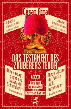 Das Testament des Zauberers Tenor von Aira,  César, Hansen,  Christian