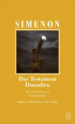 Das Testament Donadieu von Helmlé,  Eugen, Simenon,  Georges