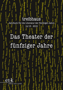 Das Theater der fünfziger Jahre von Häntzschel,  Günter, Hanuschek,  Sven, Leuschner,  Ulrike