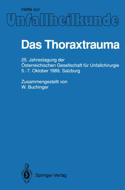 Das Thoraxtrauma von Buchinger,  W.