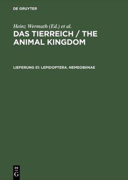 Das Tierreich / The Animal Kingdom / Lepidoptera. Nemeobiinae von Stichel,  Hans