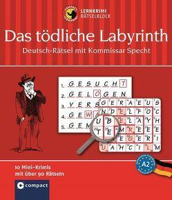 Das tödliche Labyrith – Deutsch-Rätsel (Niveau B1) von Dr. Wegner,  Wolfgang