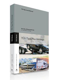 Das TÜV-Buch PKW-Anhänger von Lauffs,  Dieter, Miedel,  Hans, Spitzer,  Gerhard