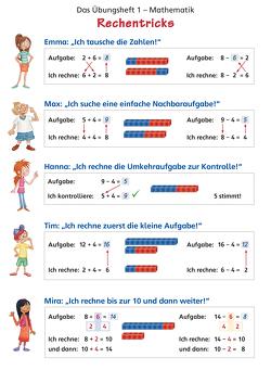 Das Übungsheft Mathematik 1 – Poster von Keller,  Karl-Heinz, Pfaff,  Peter, Simon,  Hendrik, Simon,  Nina