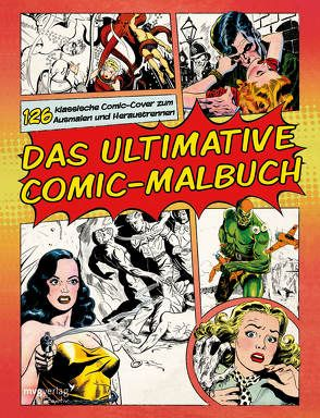 Das ultimative Comic-Malbuch