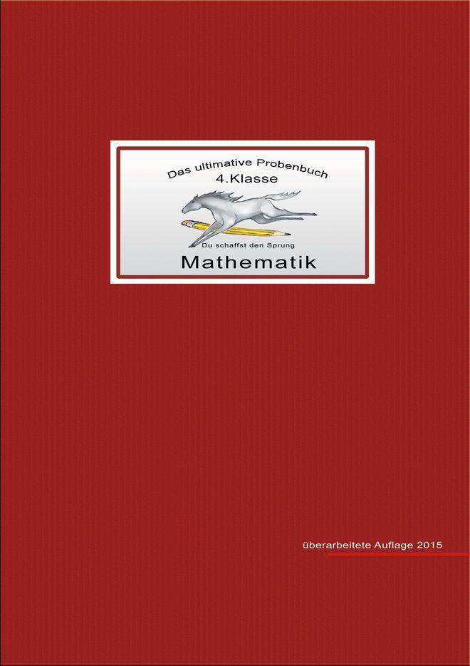 das ultimative probenbuch mathematik 4 klasse von mandl