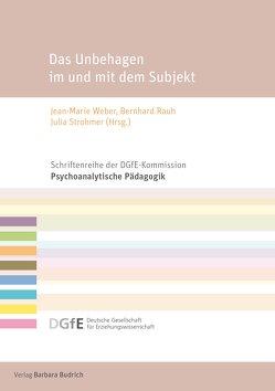 Das Unbehagen im und mit dem Subjekt von Rauh,  Bernhard, Strohmer,  Julia, Weber,  Jean-Marie