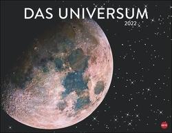 Das Universum Posterkalender 2022 von Heye