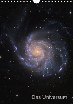Das Universum (Wandkalender 2019 DIN A4 hoch) von Kai Wiechen,  Dr.