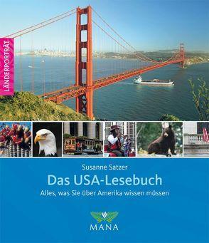 Das USA-Lesebuch von Pohlmann,  Patrick, Satzer,  Susanne
