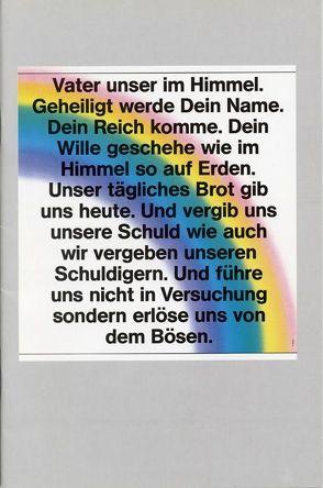 Das Vaterunser für heute ausgelegt von Braun,  Reinhart, Karnetzki,  Manfred