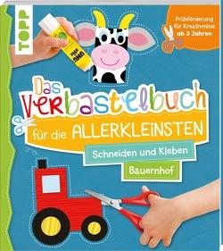 Das Verbastelbuch für die Allerkleinsten Schneiden und Kleben Bauernhof von frechverlag