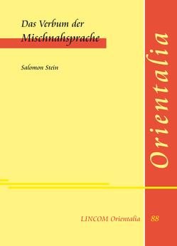 Das Verbum der Mischnahsprache von Stein,  Salomon