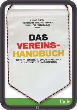 Das Vereinshandbuch von Grünberger,  Herbert, Moore Stephens München AG, Riedl,  René
