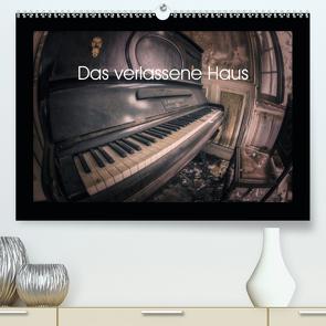 Das verlassene Haus (Premium, hochwertiger DIN A2 Wandkalender 2021, Kunstdruck in Hochglanz) von Alemann,  Jens