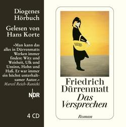 Das Versprechen von Dürrenmatt,  Friedrich, Korte,  Hans
