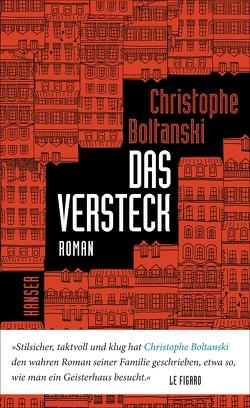 Das Versteck von Boltanski,  Christophe, Scheffel,  Tobias